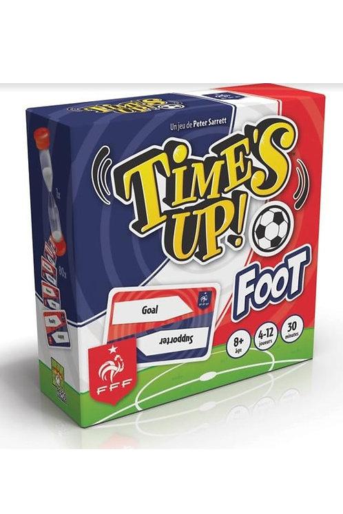Time's Up Foot. Jeu d'ambiance en équipe.