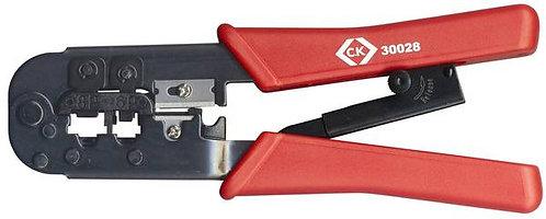 Pince à sertir C.K. 430028 pour connecteurs RJ11, RJ12, RJ45