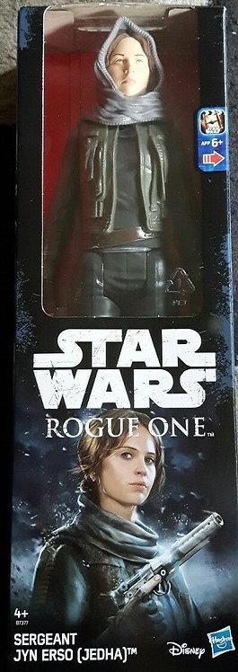 Figurine Star Wars Les derniers Jedi 30 cm : JYN ERSO