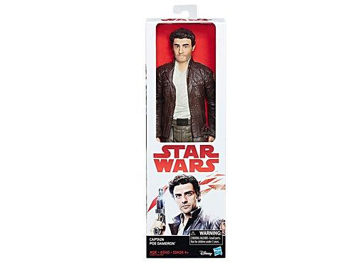 Figurine Star Wars Les derniers Jedi 30 cm : Captain Poe