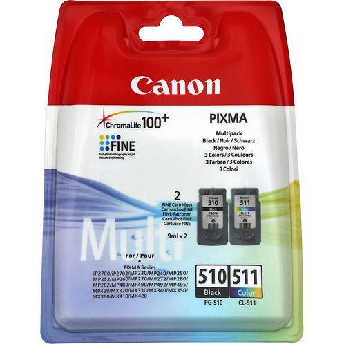 Pack Cartouches PG-510 / CL511 CANON