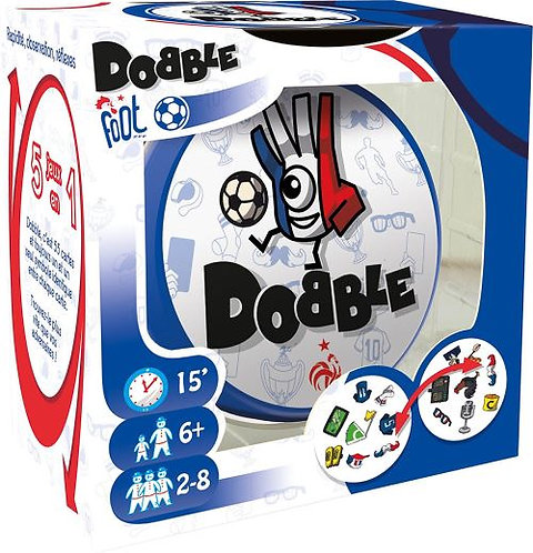 Jeux d'ambiance Dobble Foot FFF / 2