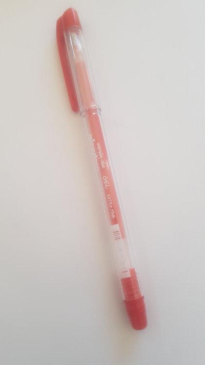 Roller encre gel Niceday GRBXF0.3 0.3 mm Rouge