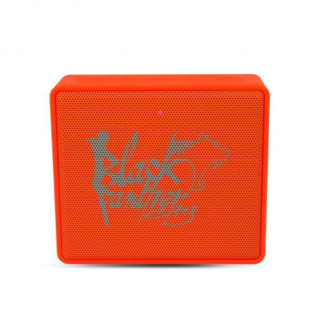 Enceinte nomade bluetooth Orange