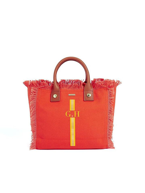 Melissa Odabash- Porto Cervo Bag orange