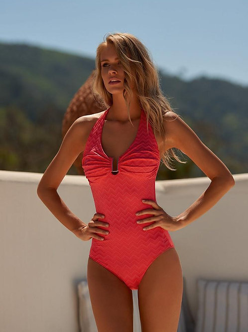 Tampa One Piece- Coral Wave
