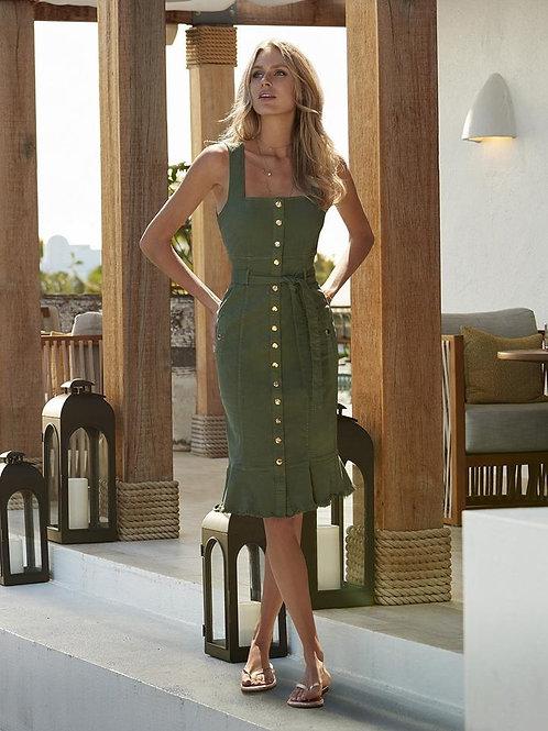 Ruby Olive Midi Dress
