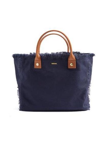 Melissa Odabash- Porto Cervo Navy Tan Bag