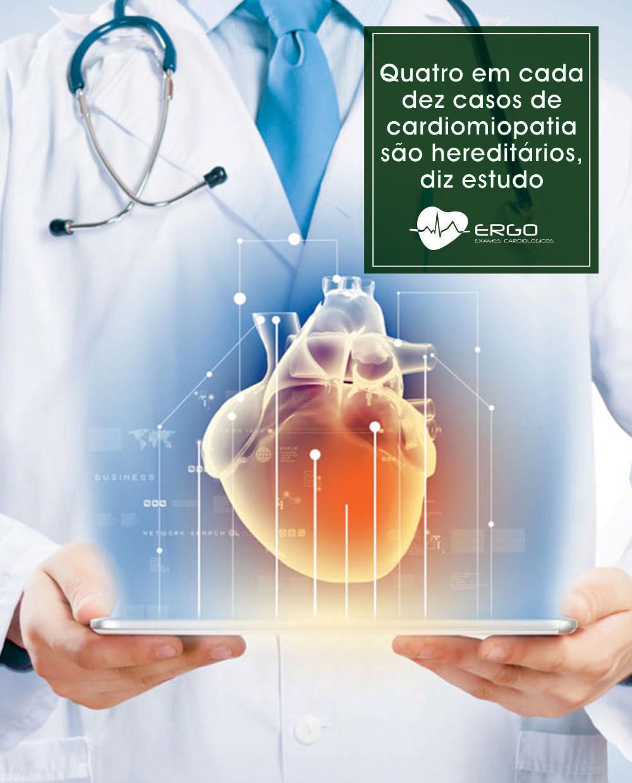 Ergo cardiomiopatia