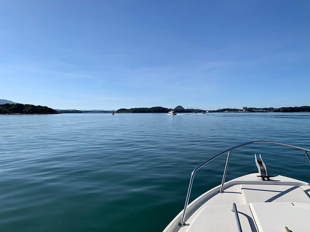 美しい有明海の島々
