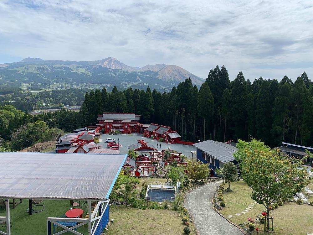 未来樹の丘からの風景