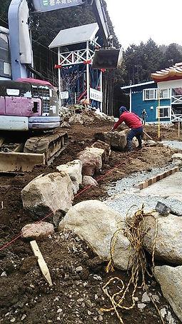 未来樹の丘建設工事2016