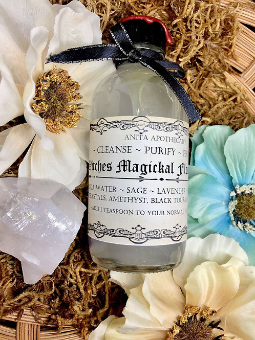 Witches Magickal Floor Wash
