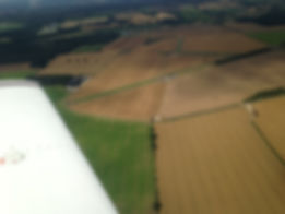 Knettishll airfield from the air