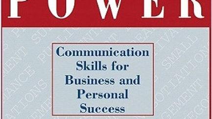 Conversation Power By James K Van Fleet
