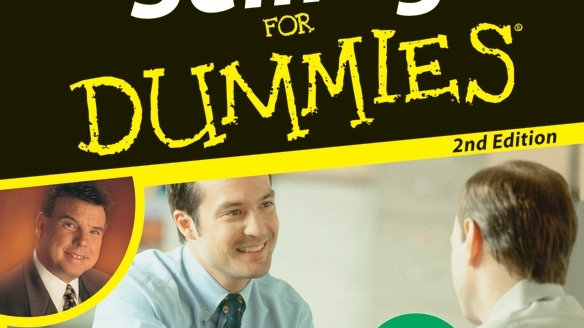 (Audio Book) Selling For Dummies By Tom Hopkins