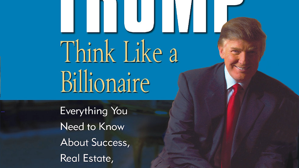 ( AudioBook) Think Like a Billionaire By Donald Trump
