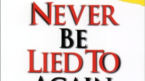 Audio - Never be Lied to Again - By David Lieberman