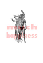 """much happiness 13"""" x 19"""" Archival ink jet prints 2016"""