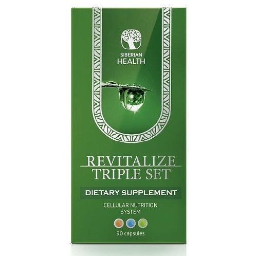 REVITALIZE TRIPLE SET CELLULAR NUTRITION SYSTEM NIGHT & DAY FORMULA (90CAP)