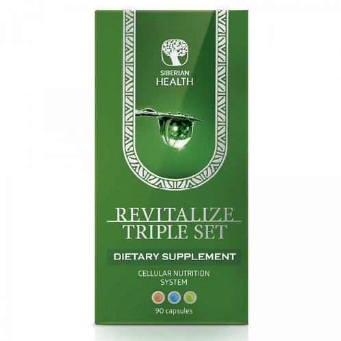 REVITALIZE TRIPLE SET CELLULAR NUTRITION SYSTEM NIGHT & DAY FORMULA (90CAP)