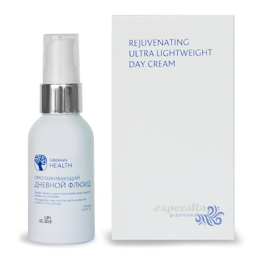 Experalta Platinum - Rejuvenating Ultra Lightweight Day Cream (50ML)