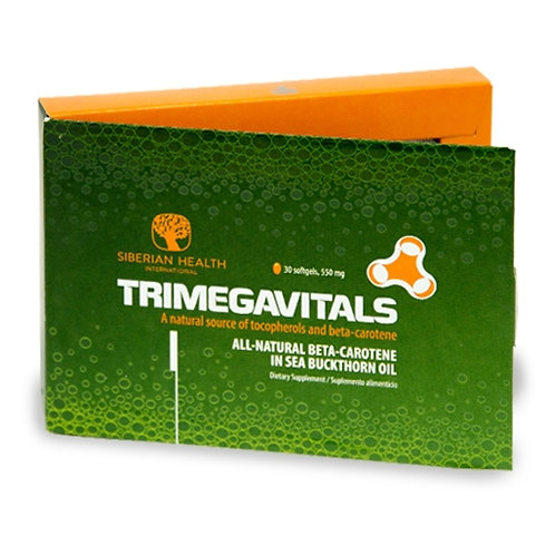 TRIMEGAVITALS BETA-CAROTENE IN SEA BUCKTHORN (30CAP) (GELATIN CAP)