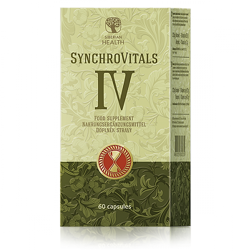 Synchrovitals IV - Liver Support Supplement (60CAP)