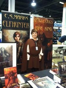 C. S. Marks at Comic Con