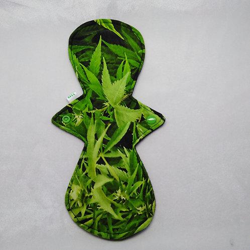 "12"" Jersey, heavy CSP. Cannabis leaf."