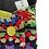 "Thumbnail: 10""  Jersey,  regular cloth pad, granny squares"