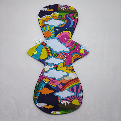 "12"" Organic Jersey, light cloth pad. Woodstock"