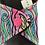 "Thumbnail: 10""  Jersey,  regular cloth pad, neon pink mermaid"