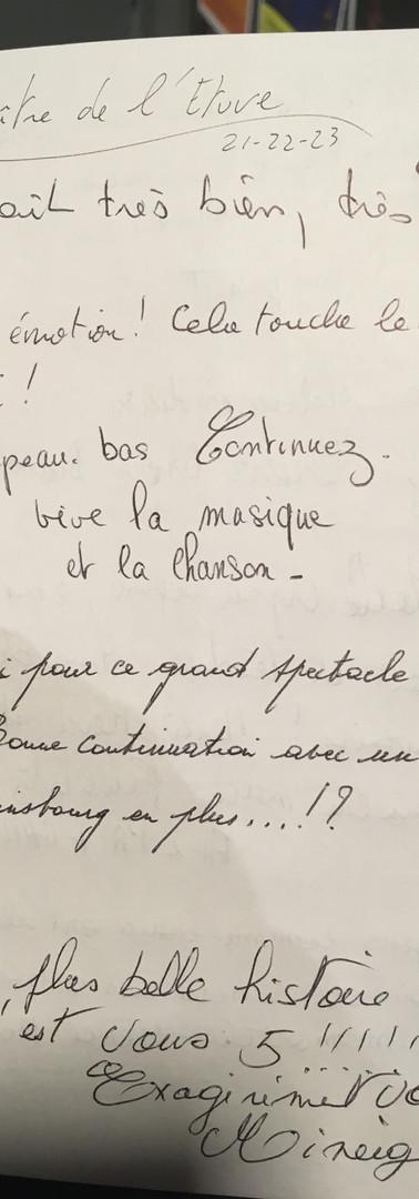 180923 - Livre d'Or 1 - Brel Brassens Fe