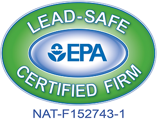 EPA Lead-Safe Certified Firm #NAT-F152743-1