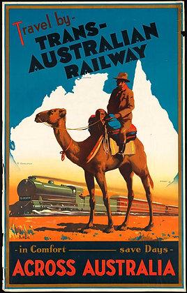 AUSTRALIAN TRAVEL POSTER
