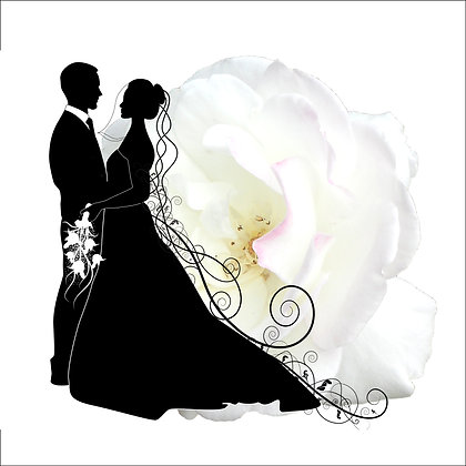 WEDDING COUPLE PACK OF 10 CARDS
