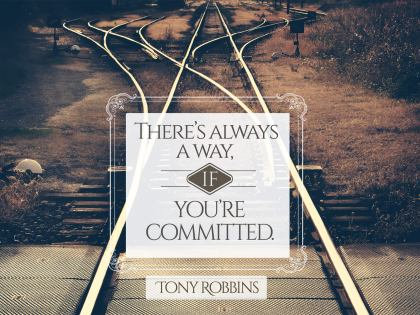 There's always a way ........