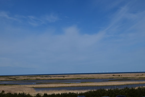 BLUE SKY OVER SALTHOUSE