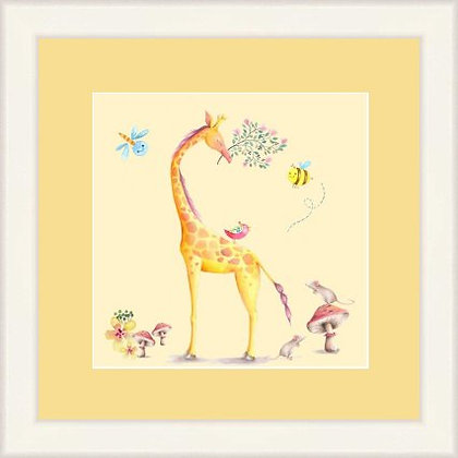 Framed Print Jeremy Giraffe