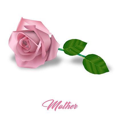 Rose Mother Card