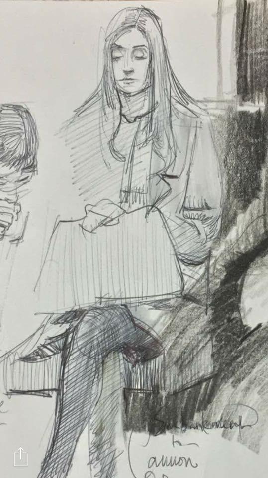 Sketch by Adebanji Alade