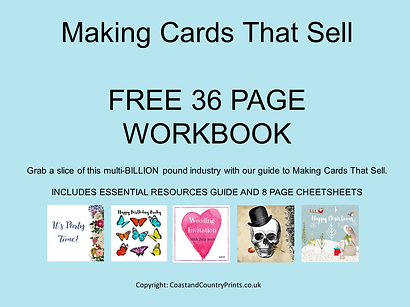 Making Cards That Sell Free 36 Page Workbook