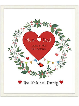 FAMILY HEART PRINT DIRECT DOWNLOAD