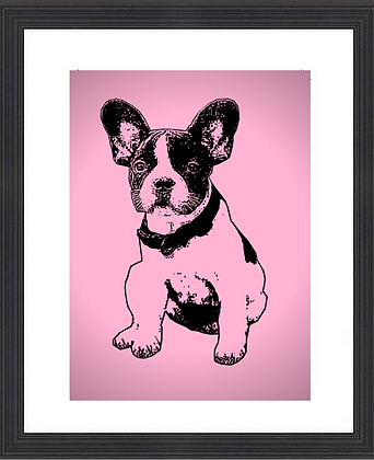 French Bulldog Puppy Contemporary Style