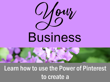 Making Pinterest Your Business