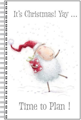 Christmas Planner Notebook - Dancing Sheep