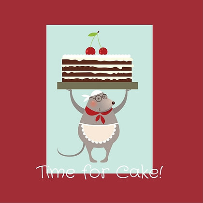 TIME FOR CAKE!