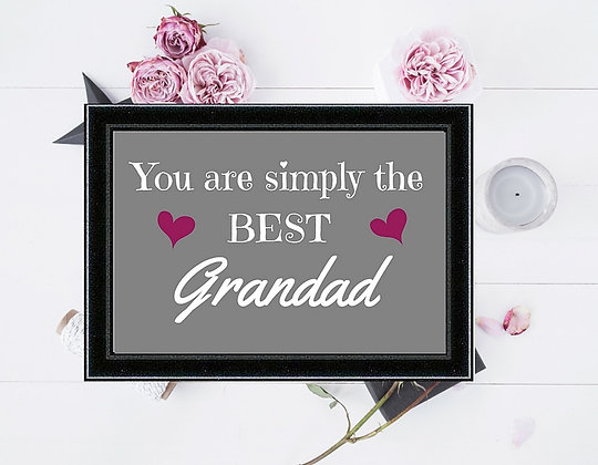 SIMPLY THE BEST GRANDAD