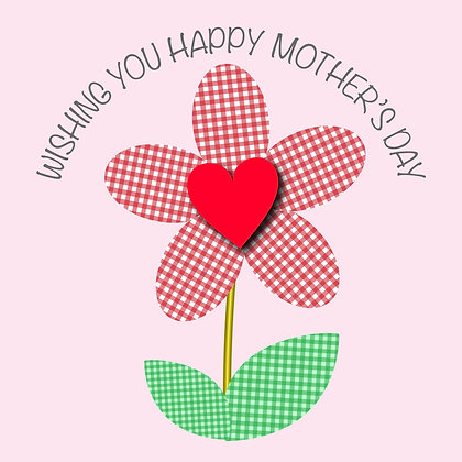Wishing you a happy Mother's Day Card